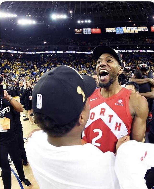 TORONTO RAPTORS 2018-2019 NBA CHAMPIONS